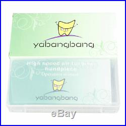 10pc New Yabangbang NSK Style Dental High Speed Handpiece Push Button 4Hole SALE
