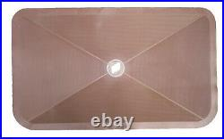 1961-1976 Buick Trunk Mat Saddle with Tri-Shield. Blem Sale