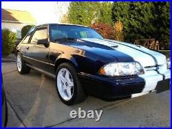1987-1993 Fox Body Mustang Radiator Bumper Filler Cover Aluminum $ Fox 5.0 Sale