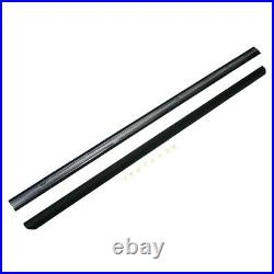 1987-93 Ford Mustang Door Molding Pair Exterior $$ Street Outlaw Fox 5.0 Sale! $