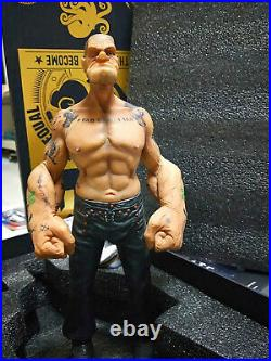 1/6 Hot Sale Popeye The Sailor Man Resin Statue Figure Model Toy TATTOO BODY