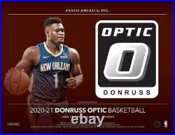 2020-21 Donruss Optic Basketball Factory Sealed Hobby Box Pre Sale