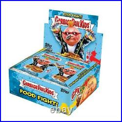 2021 Topps Garbage Pail Kids Food Fight Booster Box (24 Packs) Pre-Sale