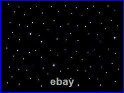 20ftx10ft Black LED Wedding Starlight Backdrop Curtain and Carrybag for Sale