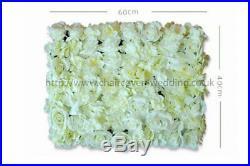 24 x IVORY Wedding Flower Wall Backdrop Panels for Sale 60cmx40cm