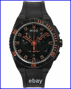 2 DAY SALE! Mido Ocean Star Captain Chronograph Quartz Mens Watch M0234173705109
