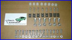 3DAY SALE Grill Kit 85pc with Moldings + Hardware + Bezels 67 68 RS Camaro