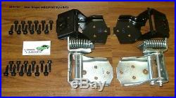 3 DAY SALE Door Hinges 28pc kit withBolts 70-81 Camaro Firebird upper lower Impala