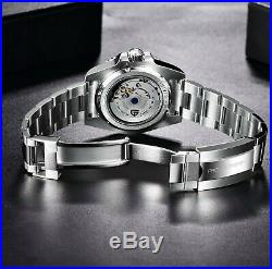 48 Hour SALE! PAGANI DESIGN 2020 Ceramic Sapphire Mechanical 40mm GMT Blue/Black