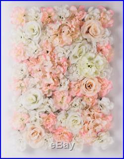 6xPINK Wedding Flower Wall Backdrop Panels for Sale 60cmx40cm