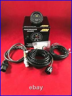 AEM X-Series Wideband Air Fuel Ratio Sensor Controller Gauge 30-0300 AFR SALE