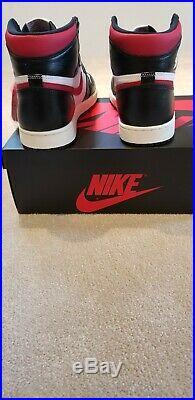 Air Jordan Retro 1 High OG White Black Sale Gym Red UK 9.5 US 10.5 Brand New+Box