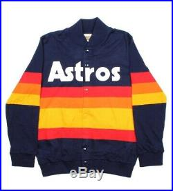 Astros Rainbow Mitchell and Ness jacket (large) BRAND NEW! Never Worn. SALE