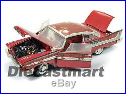 Autoworld 118 1958 Plymouth Fury Christine For Sale / Junk Yard Version Awss119