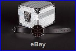 BAUHAUS chronograph watch BLACK, limited edition, brand new + box! SALE