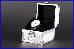 BAUHAUS chronograph watch WHITE, limited edition, brand new + box! SALE