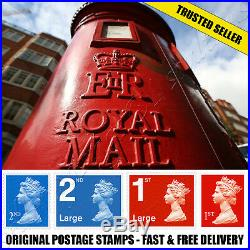 BRAND NEW 1st 2nd Class Postage Stamps DISCOUNT SALE First Second SMALL LARGE UK