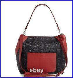 BRAND NEW AUTHENTIC MCM Klara Visetos Hobo Medium Bag Retail $650-SALE