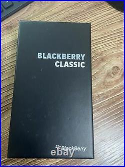 BRAND NEW BLACKBERRY CLASSIC Q20 16GB BLACK (Unlocked) - ON SALE