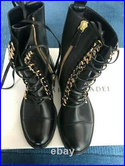BRAND NEW WITH BOX! CESARE CASADEI City Rock Ankle Boots size EUR 35 FINAL SALE
