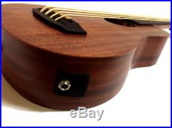 Bankruptcy Sale-new Solid Concert Electric Ukulele Bass-with Eq