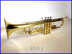 Bb TRUMPET-BANKRUPTCY SALE-NEW 2021 INTERMEDIATE CONCERT BRASS BAND TRUMPETS
