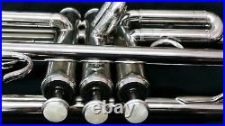 Bb TRUMPET-CLOSEOUT SALE-NEW STUDENT TO ADVANCED BAND CONCERT SILVER TRUMPETS