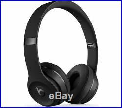 Beats By Dr. Dre Solo3 Wireless Headphones- MATTE BLACK- Brand New & Sealed-SALE