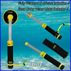Best 30M Underwater PI Metal Detector Gold Fully Waterproof Pinpointer For Sale