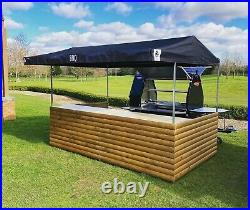 Big Kahuna Street Food Stall Large marquee Hire Not Sale