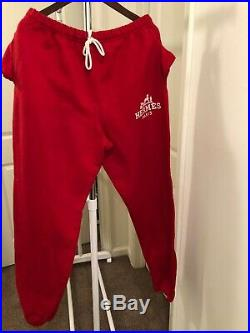 Big Sale Hermes Red Sweatpants Brand New Size Large