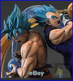 Blue Son Goku Blue Begeta Resin Figurine Statue F4 Studio Dragon Ball Z Pre-sale