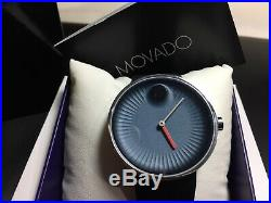 Brand New Movado Edge Blue Dial Silicone Men's Watch 3680004-Super Sale Now On