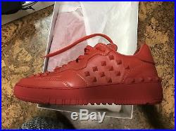 Brand New! Valentino rockstud red leather size 8US 7UK Sale