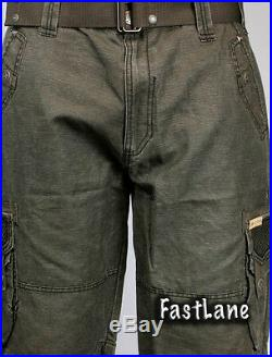 Brand new Affliction Black Premium ASSORTED CARGO SHORTS! Free Shipping! SALE