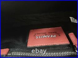 Brand new MARC JACOBS PEANUTS X The Mini Box Bag women crossbody bag sale