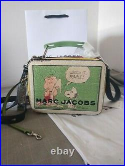 Brand new MARC JACOBS PEANUTS X The Mini Box Bag women crossbody bag sales