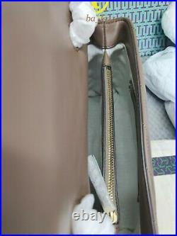 CLASSIC TAUPE Women's KIRA CHEVRON CONVERTIBLE LEATHER SHOULDER BAG Hot Sales
