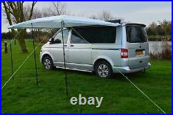 Campervan Awning / Sun Canopy Sunshade Fits VW T3 T4 T5 T6 with 4mm or 6mm Rail