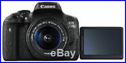 Canon Eos Rebel T6i / 750D Dslr Camera +18-55mm Lens 0591C003 Sale Deal