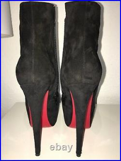 Christian Louboutin Daf Ankle Booty Us7.5 Brand New Sale