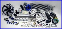 Custom Race T3T4 T3 T4 TurboCharger Turbo Boost Kit NEW DESIGN STREET STRIP SALE