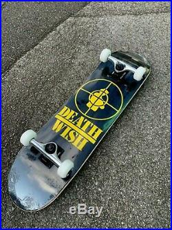 Deathwish Skateboard Complete Full Set Up 8 Inch Terrordome Brand New Sale
