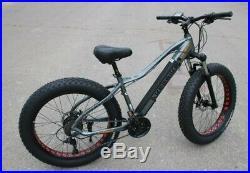 Ebike Electric Mountain Bike 26 FAT TIRE 4.0 Tire 48v 350w electric bike SALE