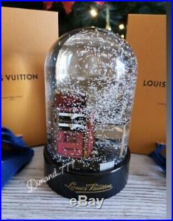 FINAL SALEBrand New Louis Vuitton Stokowski Desk Vip Gift Lv Snow Globe