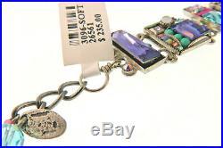 FIREFLY BRAND NEW MULTI Soft Mosaic Bracelet-Gorgeous-Art to Wear NWT on Sale