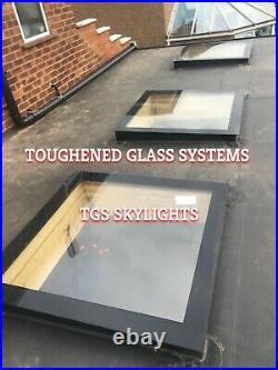 FLAT ROOF SKY LIGHT, ROOF DOME, ROOF WINDOW -500x500mm Huge SALE