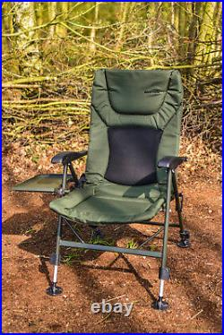 Fishing Chair Padded Recliner Chair FREE SIDE TRAY SALE PRICE