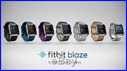 Flash SALE! Fitbit Blaze Smart Fitness Super Watch Black Blue Plume Small&Large