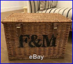 Fortnum and Mason Large Hamper Basket-Brand New at Xmas! Other Baskets For Sale